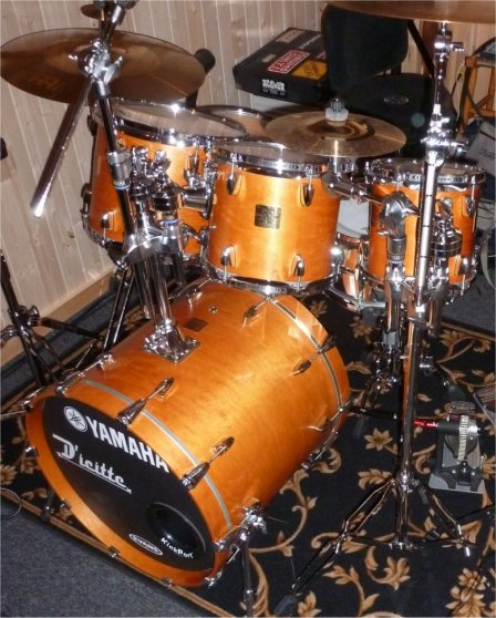 Marco drumset evolution I